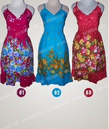 Shortdress Flower Bali